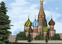 春のモスクワのイメージ