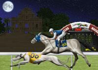 ドッグレースと競馬イメージ