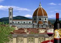 ドゥオモとワインイメージ