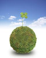緑の地球イメージ