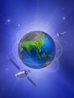 地球 衛星イメージ CG