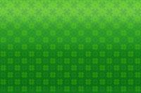 四葉のクローバーイメージ イラスト