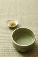 抹茶と甘納豆