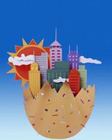 クラフト 都市イメージ