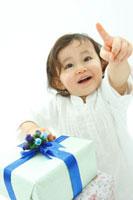 プレゼントと女の子