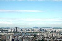 ソウルの街並み 韓国