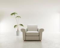 ソファと観葉植物 CG 11019024256| 写真素材・ストックフォト・画像・イラスト素材|アマナイメージズ