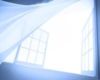 風で揺れるカーテン CG 11019024259| 写真素材・ストックフォト・画像・イラスト素材|アマナイメージズ