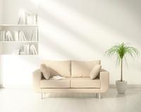 ソファのあるリビングルーム CG 11019024261| 写真素材・ストックフォト・画像・イラスト素材|アマナイメージズ