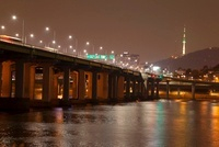 漢南大橋とNソウルタワー