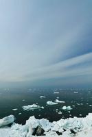 オホーツク海の流氷 北海道