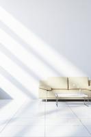 リビングに置かれたソファ CG 11019027634| 写真素材・ストックフォト・画像・イラスト素材|アマナイメージズ