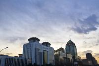 夕暮れの街並み 北京
