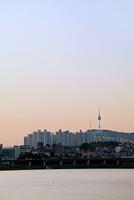 Nソウルタワー 夕景 韓国
