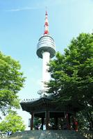 Nソウルタワーと八角亭 韓国