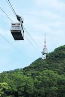 Nソウルタワーと南山ケーブルカー 韓国