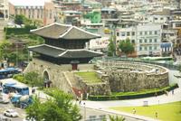 ソウルの街並みと東大門 ソウル