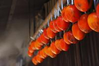 干し柿作り(蜂屋柿) 長野県