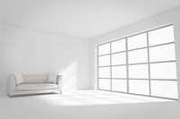 ソファが置かれた部屋 CG