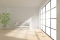ソファと観葉植物が置かれた部屋 CG 11019032137| 写真素材・ストックフォト・画像・イラスト素材|アマナイメージズ