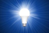 電球と光 CG