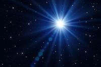 星空と光 CG