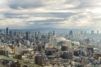 弁天町から望む大阪市街地