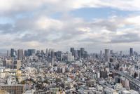 弁天町から大阪駅方面を望む大阪市街地