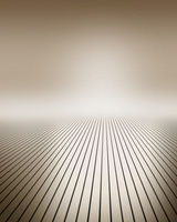 空間に伸びる線と光 CG