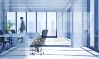 会議室を歩くビジネスマン CG 11019036836| 写真素材・ストックフォト・画像・イラスト素材|アマナイメージズ