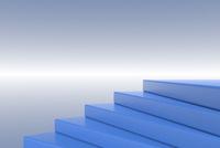 青色の階段 CG