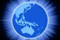 地球と二進法 CG