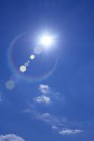 青空と太陽 CG