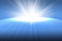 放射状の光 CG