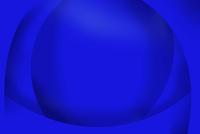 重なる青色のカーブ CG