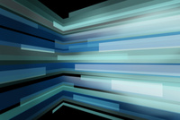 屈折する線の集合 CG