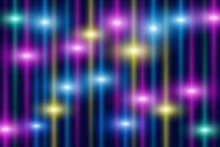 鮮やかな光の線 CG