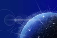 地球と光のネットワーク CG