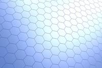 六角形の模様 CG