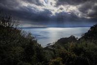 奥琵琶湖パークウェイより望む琵琶湖 滋賀県