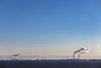 京葉工業地帯の工場風景