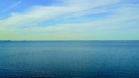 木更津の海と水平線