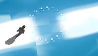 歩くビジネスマンと光る空間 CG 11019038102| 写真素材・ストックフォト・画像・イラスト素材|アマナイメージズ