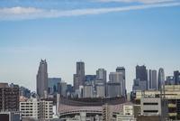 渋谷から望む新宿副都心高層ビル群