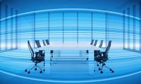 会議室のテーブルと椅子 CG 11019038495| 写真素材・ストックフォト・画像・イラスト素材|アマナイメージズ