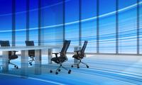 会議室のテーブルと椅子 CG 11019038496| 写真素材・ストックフォト・画像・イラスト素材|アマナイメージズ
