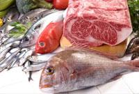 牛肉と魚介