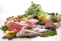 肉と魚介 11020000592| 写真素材・ストックフォト・画像・イラスト素材|アマナイメージズ