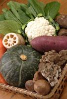 秋の野菜 11020001645| 写真素材・ストックフォト・画像・イラスト素材|アマナイメージズ
