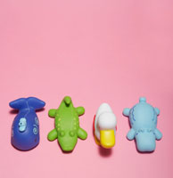 Plastic Toy Animals